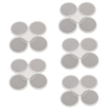 20 Pcs Clear Round Cases Coin Capsules Holder with Inner Mat for Small Coins