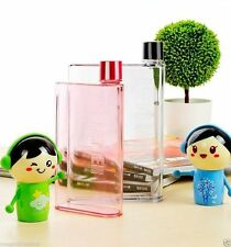A6 Notebook Bottle Ultra Slim Memo Bottle - Flat Portable 325 ML Water Bottle