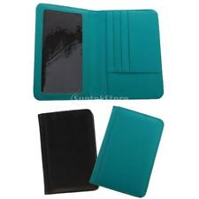 PU Leather Passport Holder Protector ID Card Money Wallet Purse Tracel Accs
