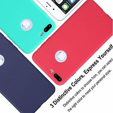 Premium Soft Silicone Plane Candy Back Cover Case for Apple iPhone 7 & 7 Plus