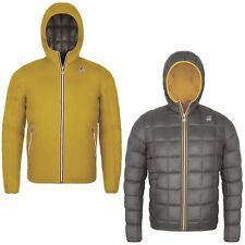K-WAY JACQUES THERMO PLUS DOUBLE Collez.A./Inv. 2018 - Col. Yellow G-Grey A