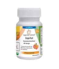 Grapefruit Extract (98% Naringin by HPLC) Capsules, Increase Bioavailability