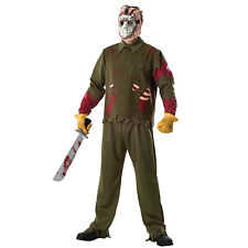 Deluxe Jason Voorhees Friday the 13th Mens Halloween Fancy Dress Costume 56046