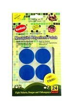 RunBugz Mosquito Repellent Patch (Plain Patch-Pack of 24)