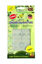RunBugz Mosquito Repellent Patch (Plain Colors - Pack of 12)