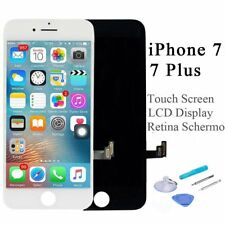 Touch Screen + LCD Display Retina +Frame Vetro Schermo Per iPhone 7 / 7 Plus