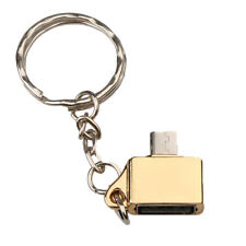 OTG Adapter Micro USB Male to USB Female For Samsung Android Phone keychain