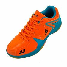 Yonex Srcr 40Ld Junior Orange Blue Badminton Shoes