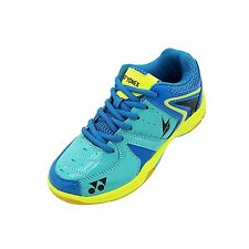 Yonex Srcr 40 Ld Junior Blue Lime Green Badminton Shoes