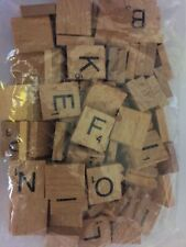 Wooden Scrabble Tiles Individual Letters Numbers For Crafts Alphabet WholesaleUK