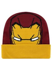 Marvel Iron Man Captain America Civil War Burgundy Beanie