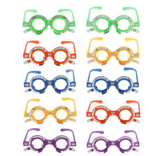 Plastic Optical Lens Trial Frame Eyeglass Opticians Optometry Optometrist