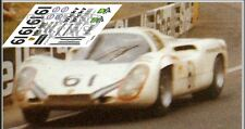 Calcas Porsche 907 Le Mans 1970 61 1:32 1:43 1:24 1:18 decals