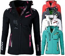 Geographical Norway Donna Giacca Softshell PIOGGIA TRANSIZIONE Outdoor REVEUSE