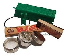 DANK PLANK Bamboo Rolling Tray Paper Stand V Block Table OR Raw Classic Paper