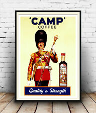 poster Reproduction. Wall art Camp coffee 2: Vintage magazine coffee advert