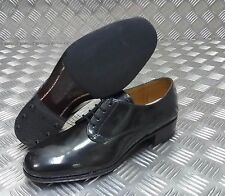 Genuine British Military Issues Womens Service Black Gibson Shoe Leather Shoes