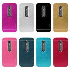 Aluminium Metal Hard Back Motomo Case Cover for Motorola Moto G3