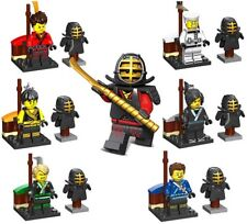 The Lego Ninjago Movie Minifigures with new Kendo Armour, Fits Lego