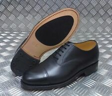 véritable British Military cuir noir service CHAUSSURES BOUT taille 6L - Neuf