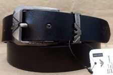 NEW REAL 100% GENUINE LEATHER BLACK BELT FOR MEN'S & FORMAL WEAR Amazing Quality