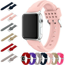 Strap Bracelet Band Silicone Fitness Replacement For Apple Watch iWatch 42mm/38m
