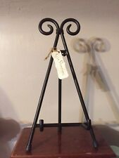 Black Iron Picture Book Plaque Stand Holder By Stonebriar NWT