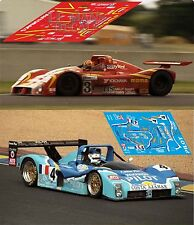 Calcas Ferrari 333SP Le Mans 1997 1:32 1:43 1:24 1:18 slot decals