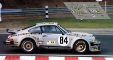 Calcas Porsche 934 Le Mans 1979 84 1:32 1:43 1:24 1:18 decals