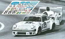 Calcas Porsche 934 Le Mans 1977 55 1:32 1:43 1:24 1:18 decals
