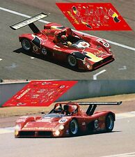 Calcas Ferrari 333SP Le Mans 1996 1:32 1:43 1:24 1:18 slot decals