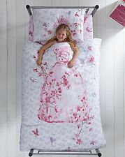 """Catherine Lansfield """" Selfie """" Quilt Cover Glamour Princess Girls Bedding Set"""