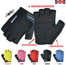 GIANT Cycling GLOVES Cycle Bike Bicycle Half Finger Less Anti slip Silicon Mitts