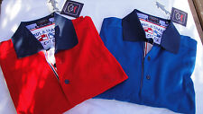 New Paul & Shark Polo Shirt in Blue & Red size XXL & 3XL Superb quality & Design