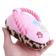 Pet Dog Toy Plush Slipper Toy Dogs Chew Squeak Plush Sound Toy