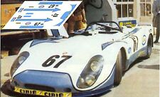 Calcas Porsche 908 02 Le Mans 1972 67 1:32 1:43 1:24 1:18 908/02 decals