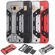 Galaxy S8 Plus Outdoor Handyhülle Samsung S8+ Armour Case Hülle +Panzerglas