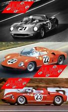 Calcas Ferrari 250P Le Mans 1963 21 1:32 1:43 1:24 1:18 250 P slot decals