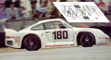 Calcas Porsche 961 Le Mans 1986 180 1:32 1:43 1:24 1:18 decals