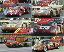 Calcas Alfa Romeo 33/2 Le Mans 1968 1:32 1:24 1:43 1:18 slot decals