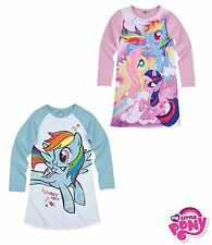 Officiel Hasbro my little pony fille manches longues nuisette nighdress 100%