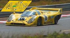 Calcas Porsche 917K 81 Le Mans 1981 10 917 K81 1:32 1:43 1:24 1:18 slot decals