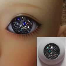 Pupilless Dark Grey - BJD Eyes - 8mm 10 12mm 14 16 18 20 22 SD13/10 Doll Dollfie