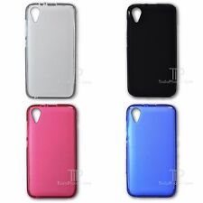 """Coque SILICONE Mate Lisse Tpu Gel pour WIKO SUNNY 2 3G 4"""" + VERRE"""