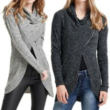 7067 ONLY DONNA CARDIGAN MAGLIA GILET GIACCA MANICHE LUNGHE