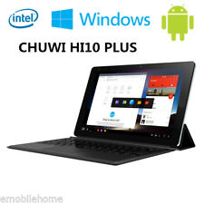 "CHUWI Hi10 Plus 10.8"" PC Tablette Windows 10 + Android 5.1 Intel 4G+64GB 8400mAh"