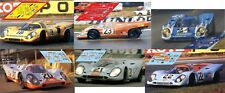Calcas Porsche 917k 917 k Le Mans 1970  1:32 1:24 1:43 1:18 slot decals