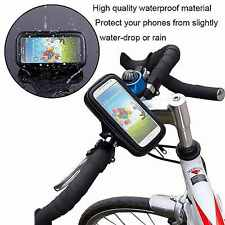 360° Waterproof Bike Bicycle Mount Holder Phone Case Cover For Apple iPhone