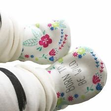 baby pram shoes, soft sole shoes, crib shoes, first walkers, bibs - Wild Flowers