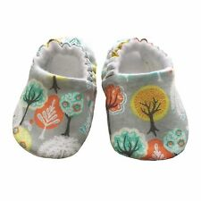 baby pram shoes, soft sole shoes, crib shoes, first walkers, bibs - Grey Trees